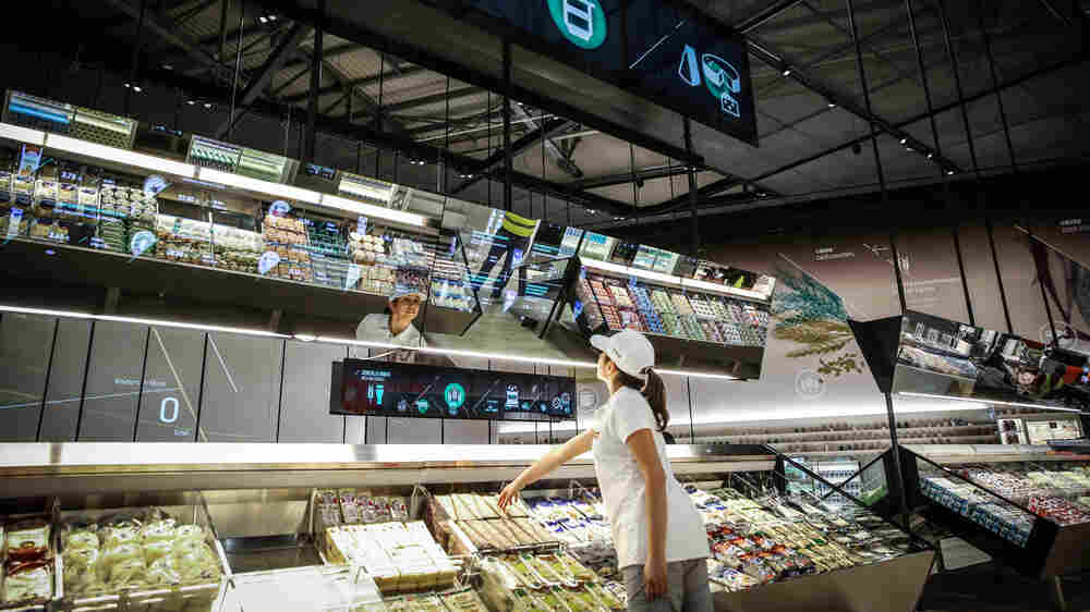 At World's Fair In Italy, The Future Of Food Is On The Table