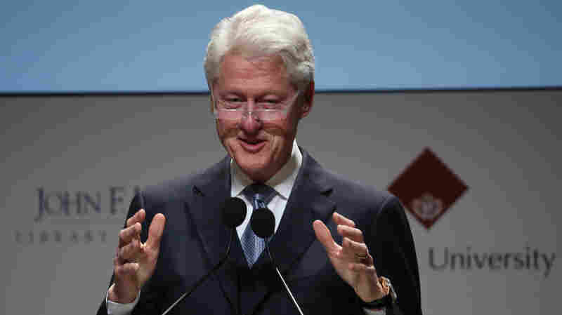 Bill Clinton and his wife, presidential candidate Hillary Clinton, are facing renewed questions about their finances.