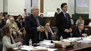 Should chimps have the same legal rights as these lawyers? Steven Wise, president of the Nonhuman Rights Foundation, who is representing research chimps Hercules and Leo, says yes. Assistant Attorney General Christopher Coulston disagrees. They both made their arguments Wednesday in Manhattan State Supreme Court in New York.