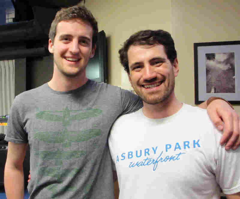 First-year medical students Keith Love (left) and Jimmy Murphy both studied environmental science as undergraduates, before joining Mount Sinai's HuMed program.