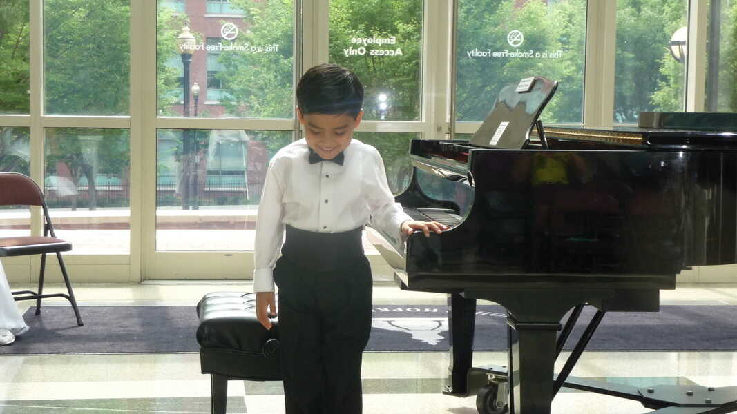 When This 9-Year-Old Pianist Plays, He Feels The Music