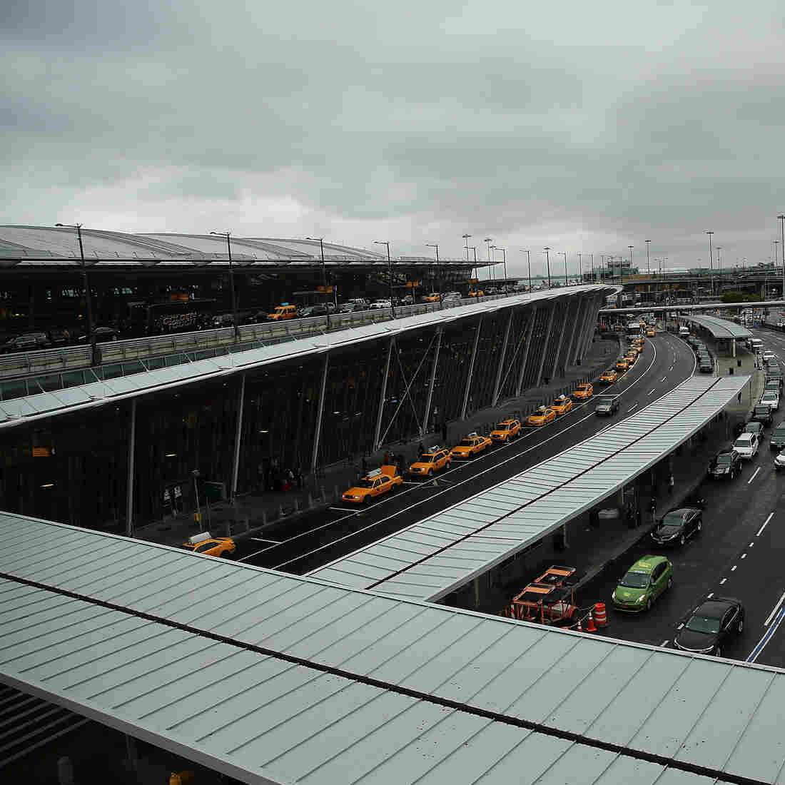 The man who died of Lassa fever flew from West Africa to New York's John F. Kennedy Airport.
