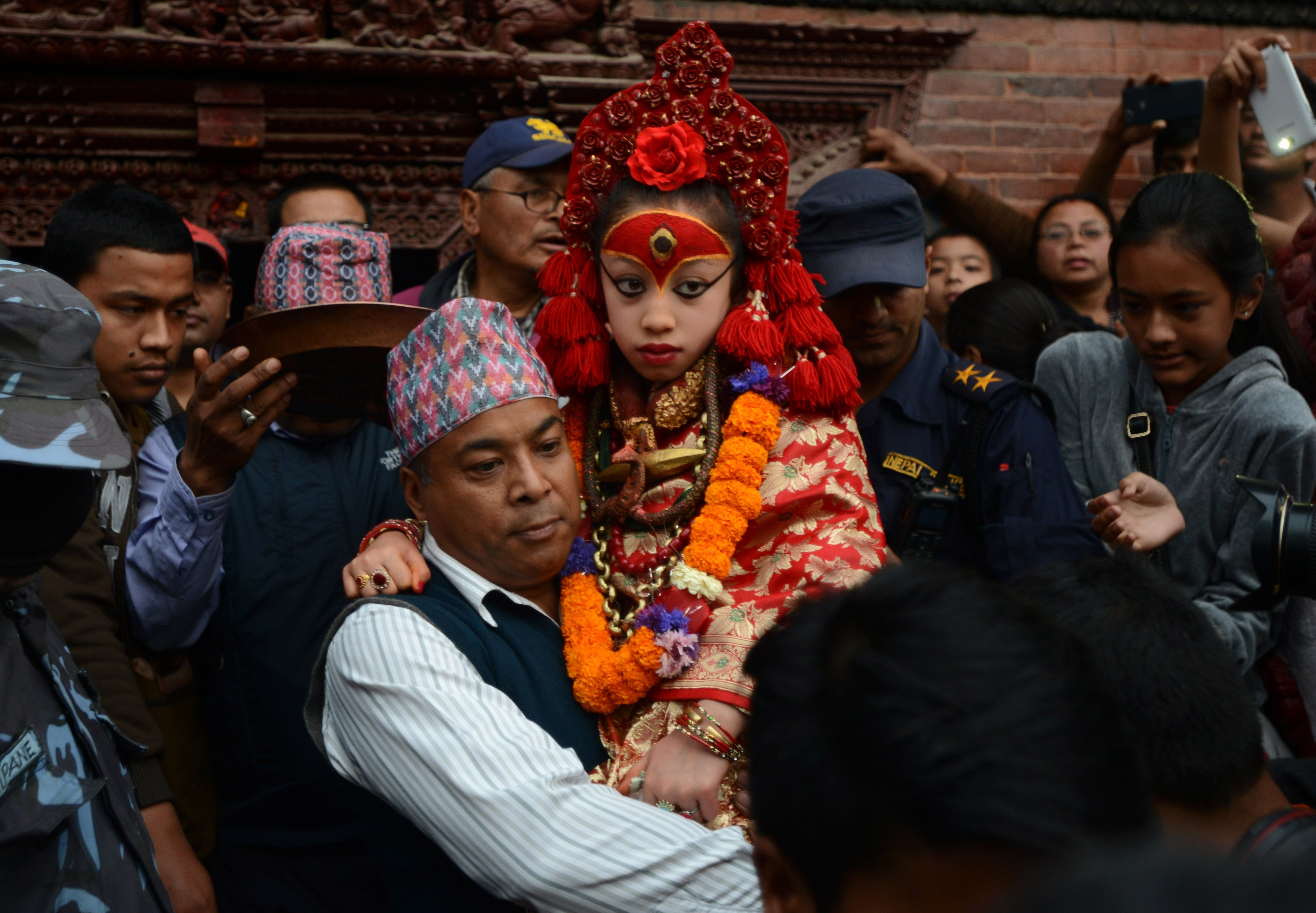 The Very Strange Life Of Nepal's Child Goddess