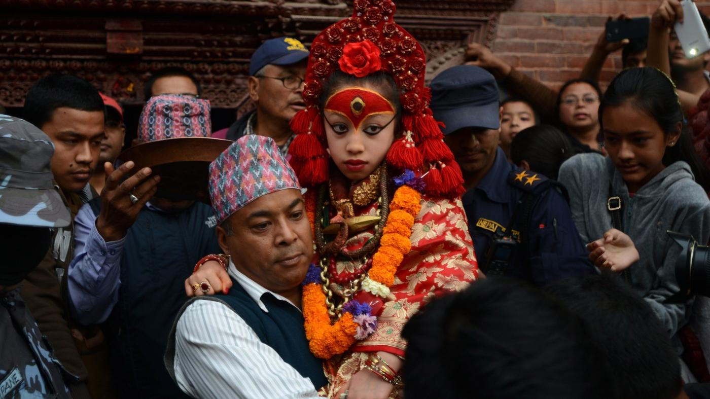 The Very Strange Life Of Nepal S Child Goddess Parallels