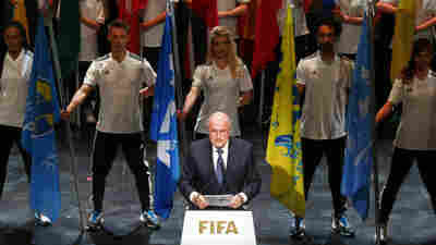 FIFA President Sepp Blatter addresses the opening ceremony of the 65th FIFA Congress in Zurich, Switzerland, on Thursday.