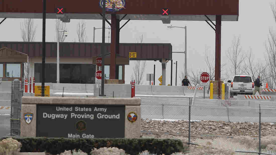 Dugway Proving Ground military base, seen here in 2010, was the source of several anthrax shipments that are suspected of containing live samples of the disease.