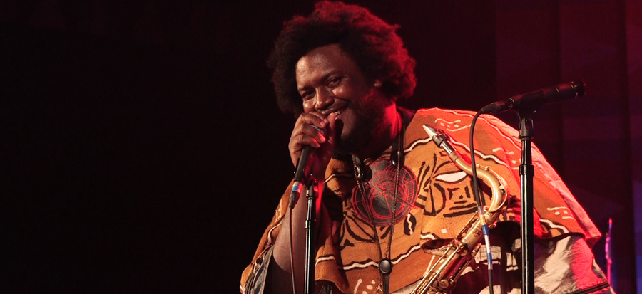 Kamasi Washington at the Regent Theater in L.A.