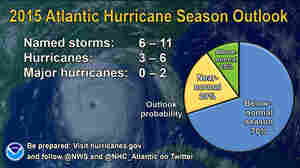 NOAA Warns Of Powerful Storms, Despite Seeing 'Below-Normal' Hurricane Season