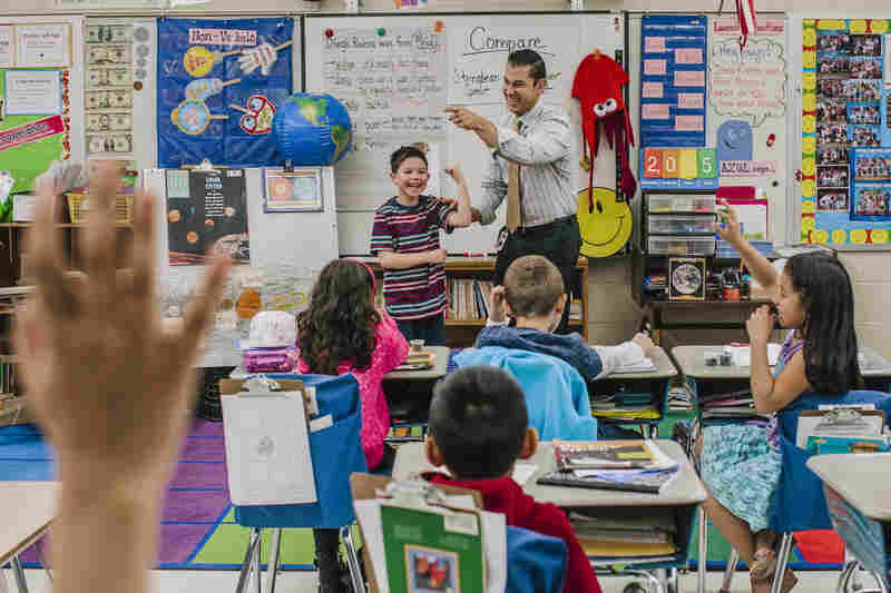 """""""Bragging about yourself, and your best qualities, is very difficult for a child who came into the classroom not feeling any confidence whatsoever to read three or four words,"""" says Whaley."""