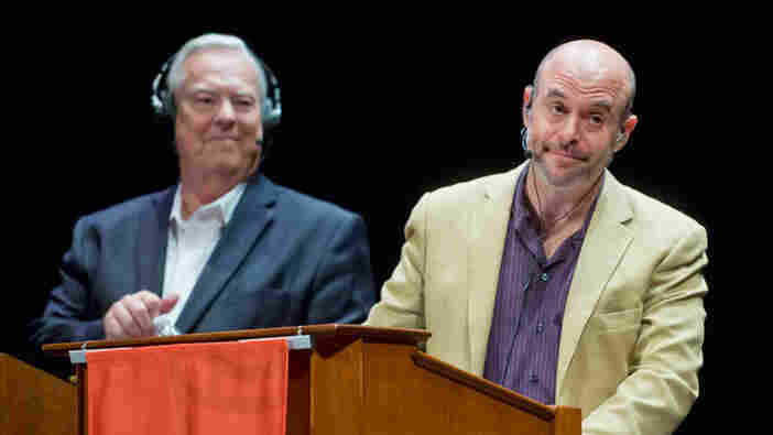 Bill Kurtis and Peter Sagal