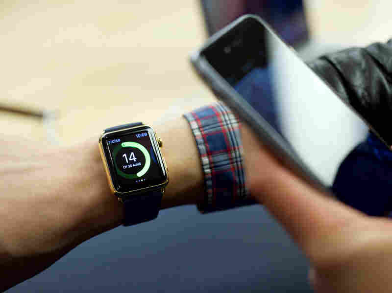 """Tech correspondent Alexis Madrigal says the """"genius"""" of the Apple Watch is that its apps work differently from the ones on a mobile device."""