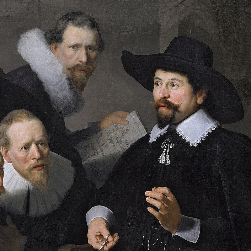 A Convincing Rembrandt Painting Crafted With 3-D Printing : All Tech ...