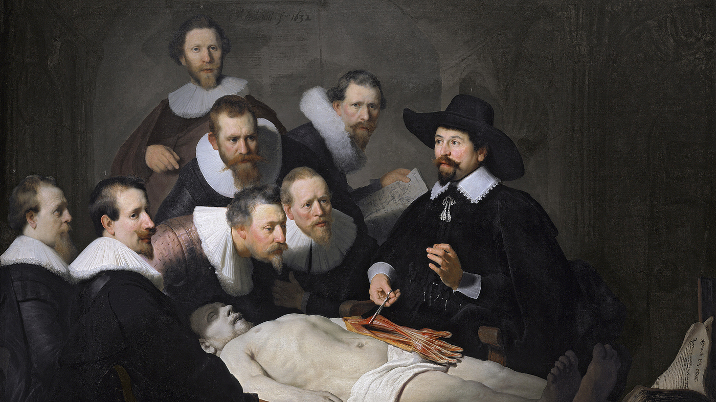 An Intersection Of Science And Art In Rembrandts Anatomy Lesson