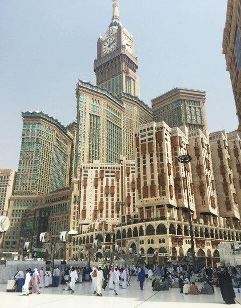 Mecca Becomes A Mecca For Skyscraper Hotels : Parallels : NPR