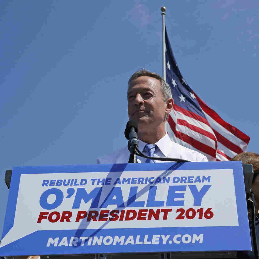 Former Maryland Gov. Martin O'Malley Seeks Democratic Nomination