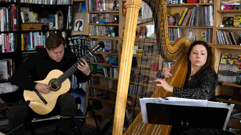 Tiny Desk Concert with Jason Vieaux and Yolanda Kondonassis.