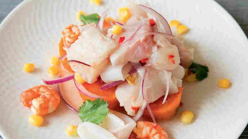 Mixed ceviche from Peru: The Cookbook.