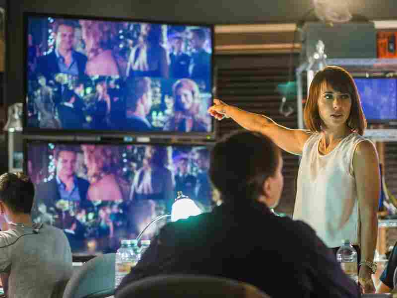 Constance Zimmer stars as Quinn, a producer who makes no apologies about her product.