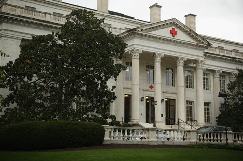 The national headquarters for the American Red Cross in Washington, D.C.