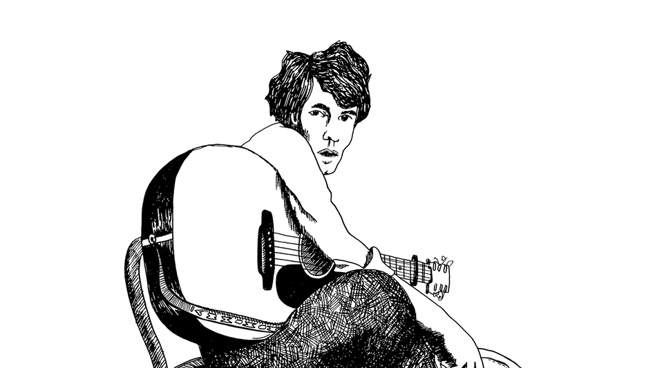 Cover art for a reissue of Bert Jansch's Live At The 12 Bar. (Courtesy of the artist)