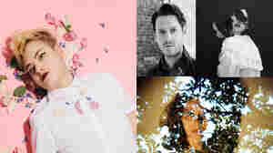 Clockwise left to right, Adult Mom, Zach Condon of Beirut, Chelsea Wolfe, Jessie Jones.
