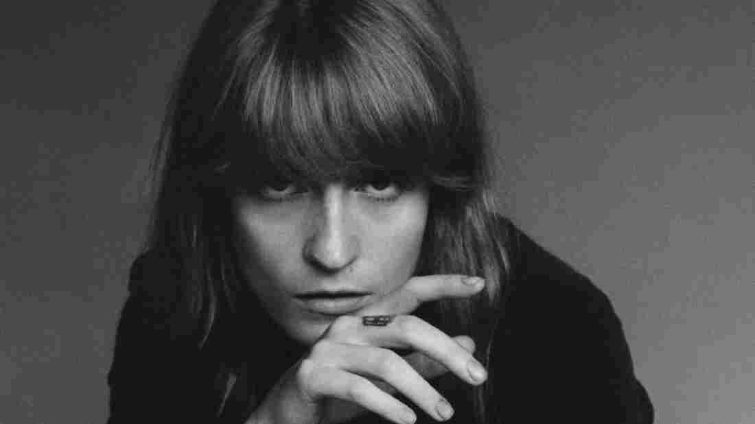 Florence Welch of Florence + The Machine, whose new album is titled How Big, How Blue, How Beautiful.