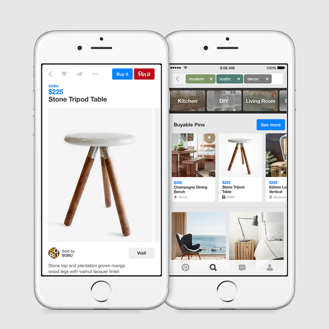 Coming Soon: More Ads On Instagram, And A 'Buy' Feature On Pinterest