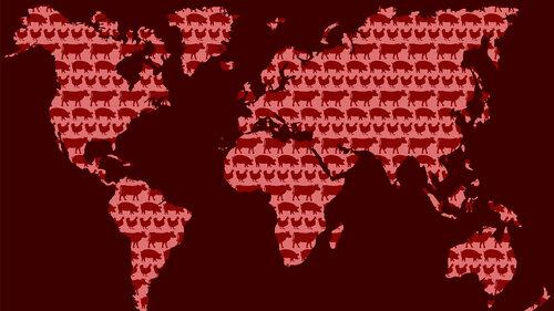 Meat around the world.
