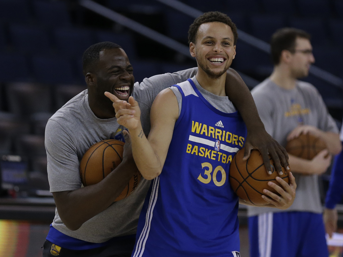 Warriors Run Away From Cavaliers In Overtime To Take Game 1 Of NBA Finals : The Two-Way : NPR