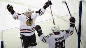 Stanley Cup: Chicago Scores Twice In Final Minutes To Defeat Tampa Bay
