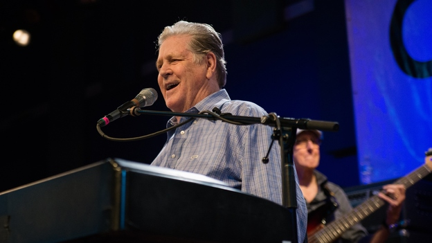 Brian Wilson performs at World Cafe Live. (WXPN)