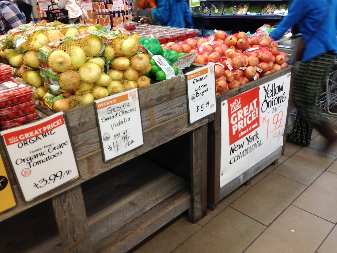 Organic Farmers Call Foul On Whole Foods Rating System Npr