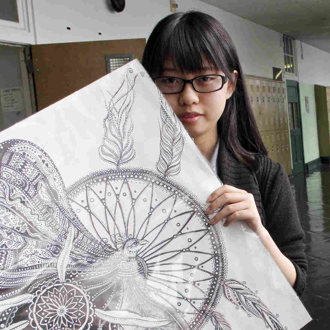 Xiuying Zhang, a senior at Furness High School, could not pass any portion of the Keystone Exams. She has been accepted to University of the Arts and hopes to become an artist.