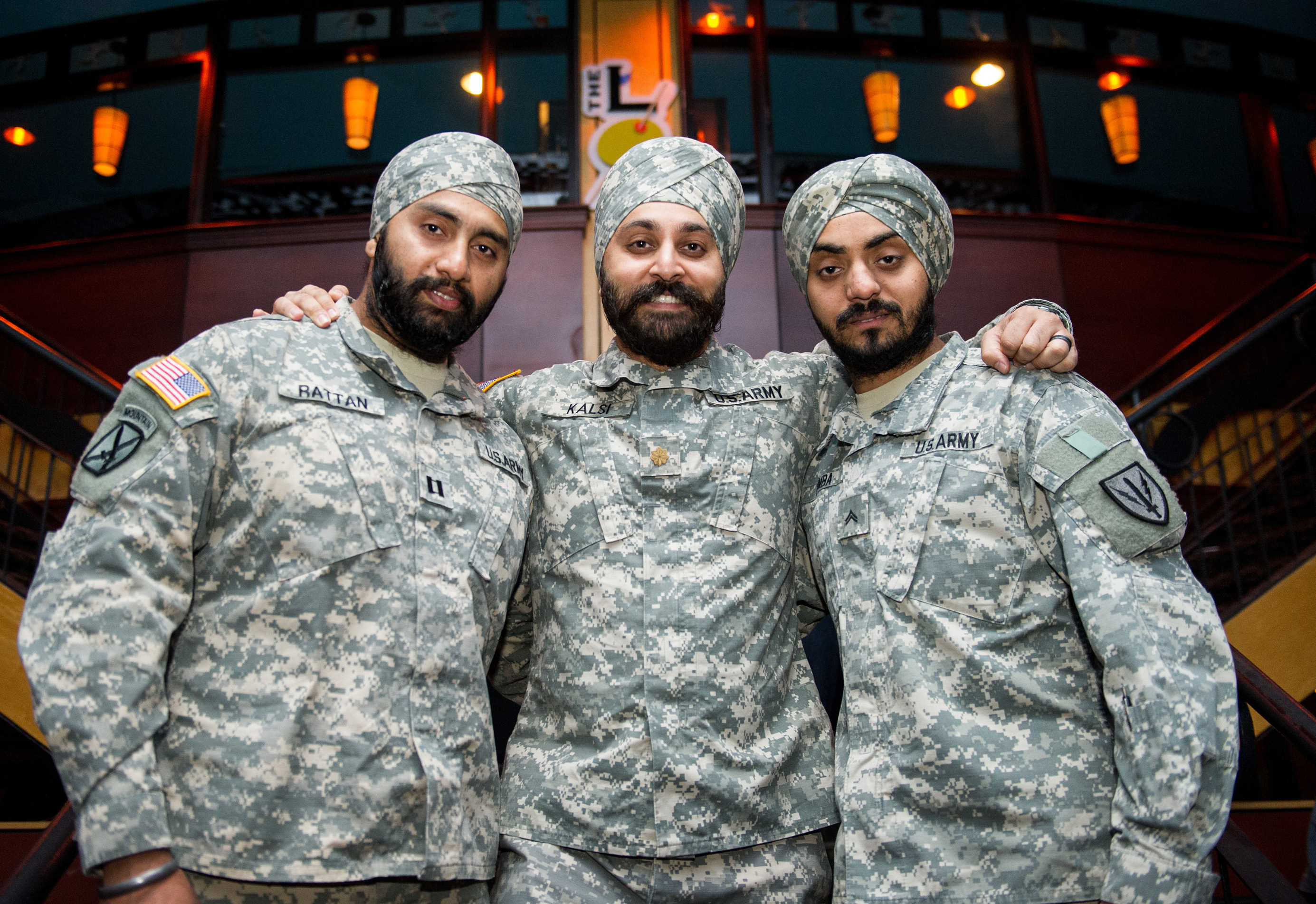 Why Are Only Three Observant Sikh Men Serving In The U.S. Military