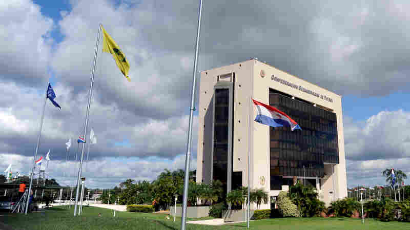 The headquarters of the South American Football Confederation, or CONMEBOL, in Luque, Paraguay. The confederation has the status of an embassy, which includes legal immunity in Paraguay. Two former heads of CONMEBOL have been indicted in the FIFA scandal, accused of taking bribes and money laundering.