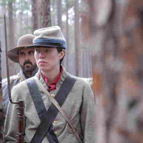 J.R. Hardman, dressed for Civil War re-enactment.