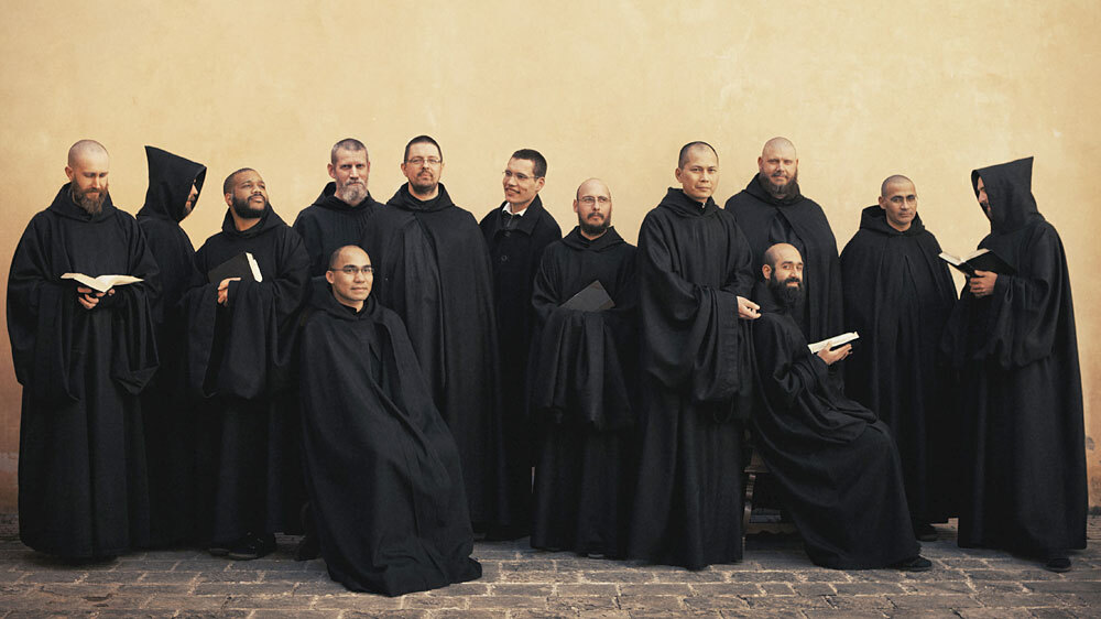 The monks of Norcia, Italy have recorded their first album, Benedicta.