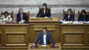 "During an emergency session of Parliament on Friday, Greek Prime Minister Alexis Tsipras said he wanted a ""European solution"" to his country's financial problems, but criticized creditors' proposals."