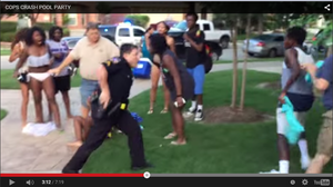 Video Shows Texas Police Officer Pulling Gun On Teens At Pool Party