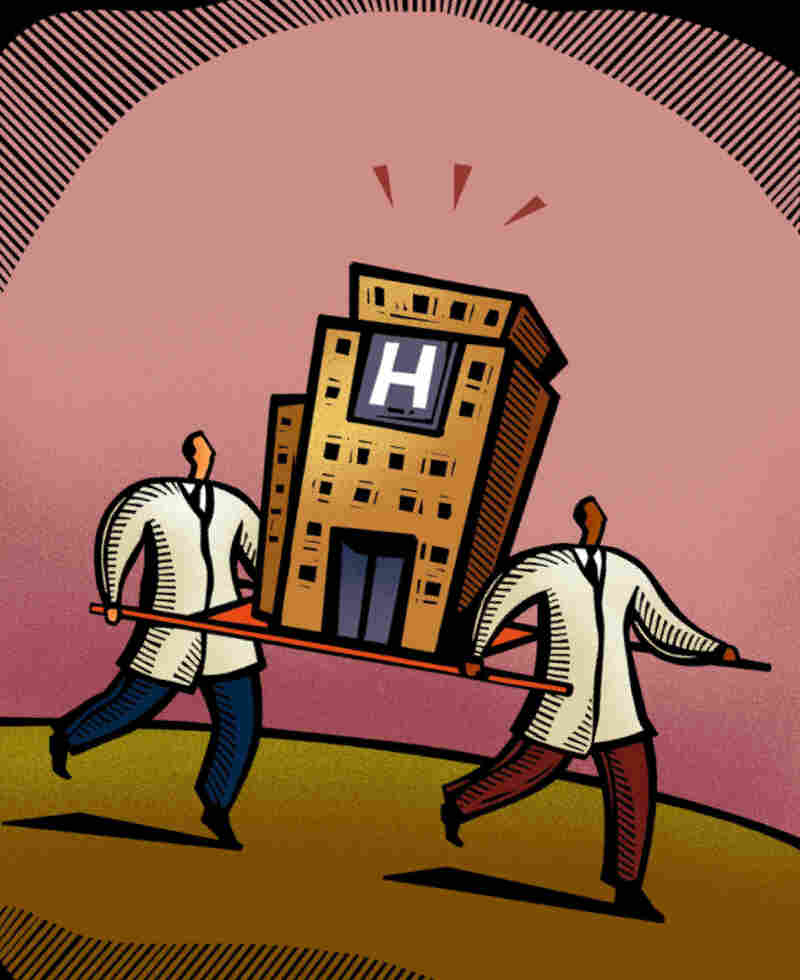A hospital's high list price can hit uninsured patients hard.