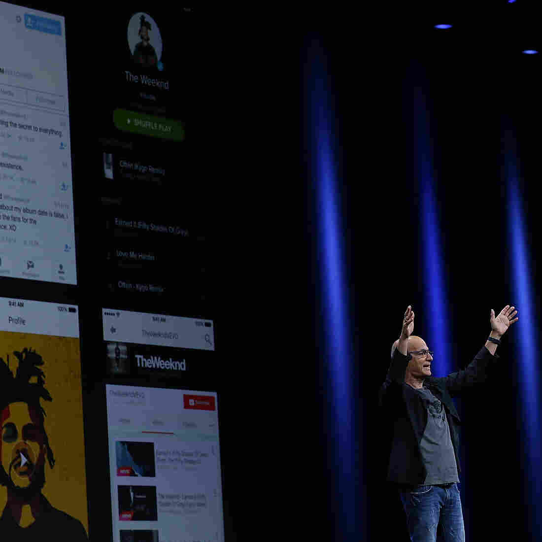 Apple Announces Music Streaming Service