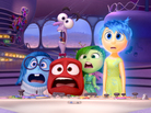 The new animated Disney/Pixar film <em>Inside Out</em> takes us inside the mind of an 11-year-old girl — a mind controlled by five emotions, each voiced by a different actor. From left: Sadness, Anger, Fear (behind Anger), Disgust and Joy.