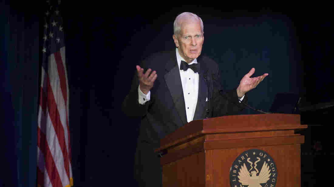 The Librarian of Congress, James Billington, speaks at an event last year at the Library of Congress in Washington, D.C.