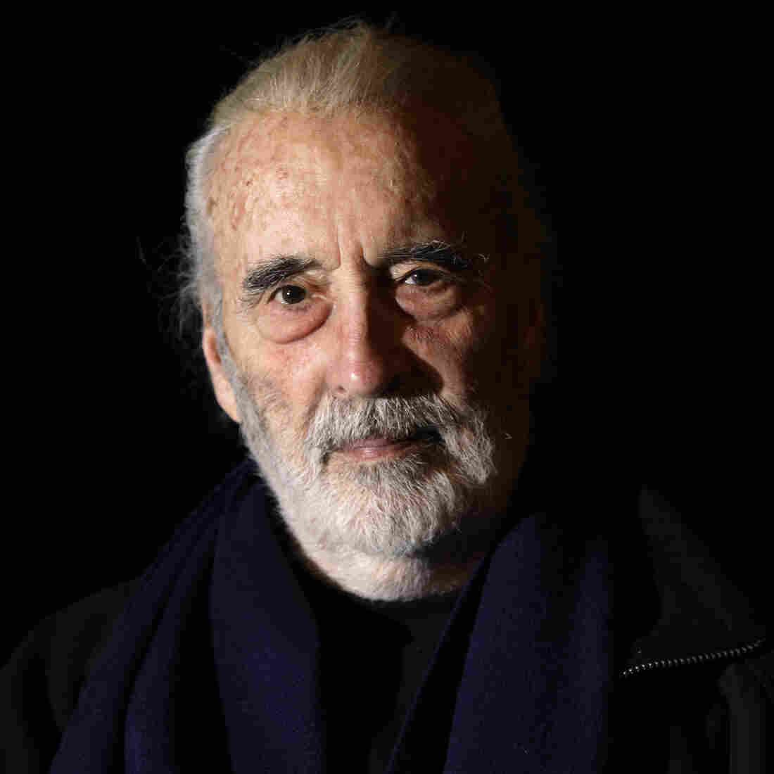 British actor Sir Christopher Lee in London in 2010.
