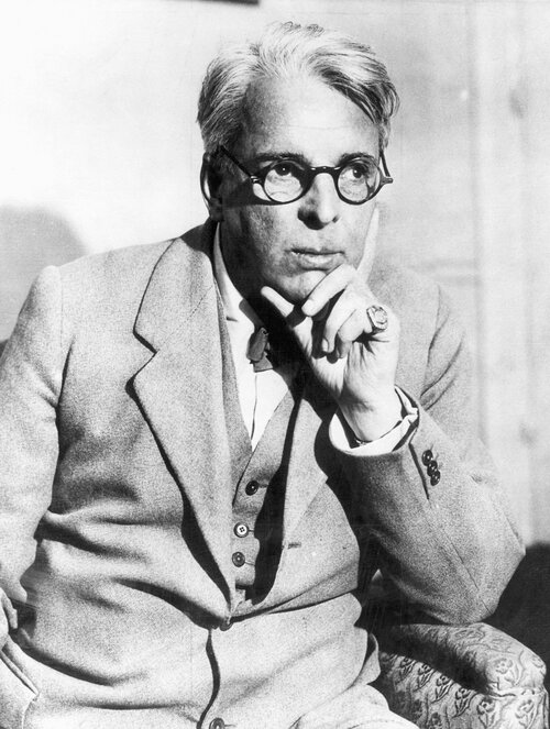 Irish poet and playwright William Bulter Yeats was born on June 13, 1865.