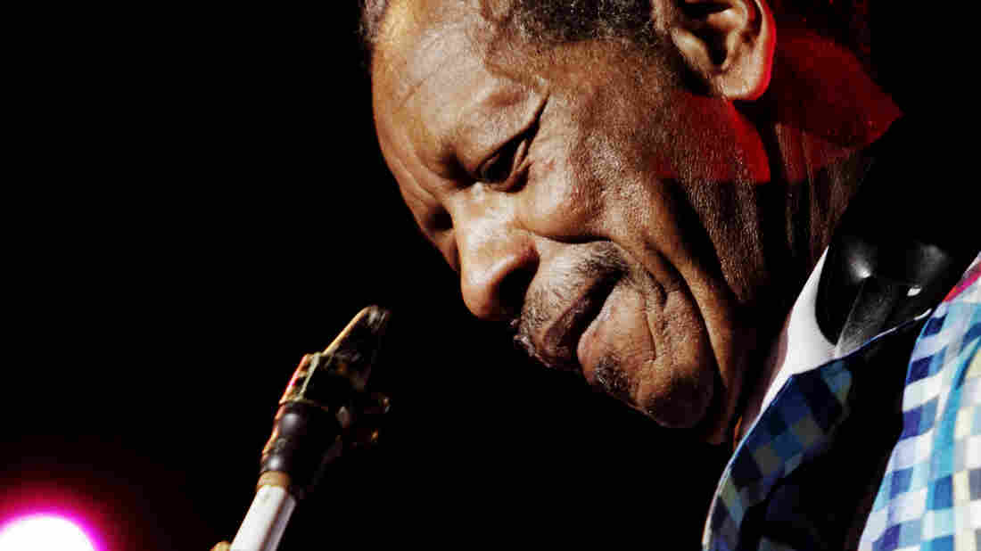 Ornette Coleman performs during the North Sea Jazz Festival in 2010.