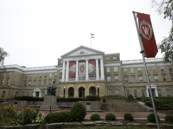 University of Wisconsin campus in Madison.