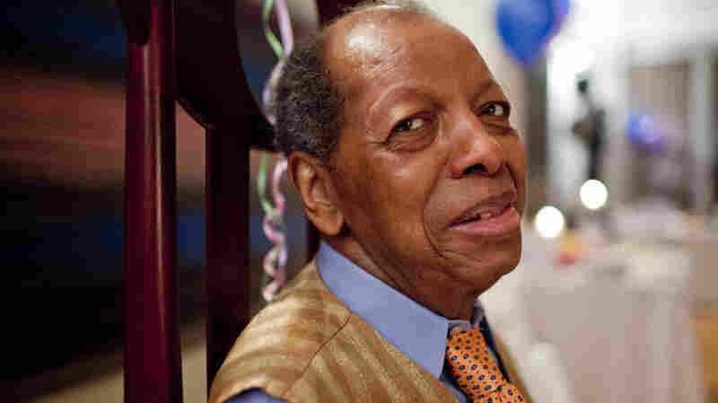 Ornette Coleman at his 85th birthday party in March 2015.