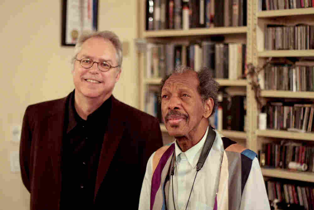 Ornette Coleman with Bill Frisell.