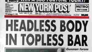 The New York Post's famous April 1983 headline.